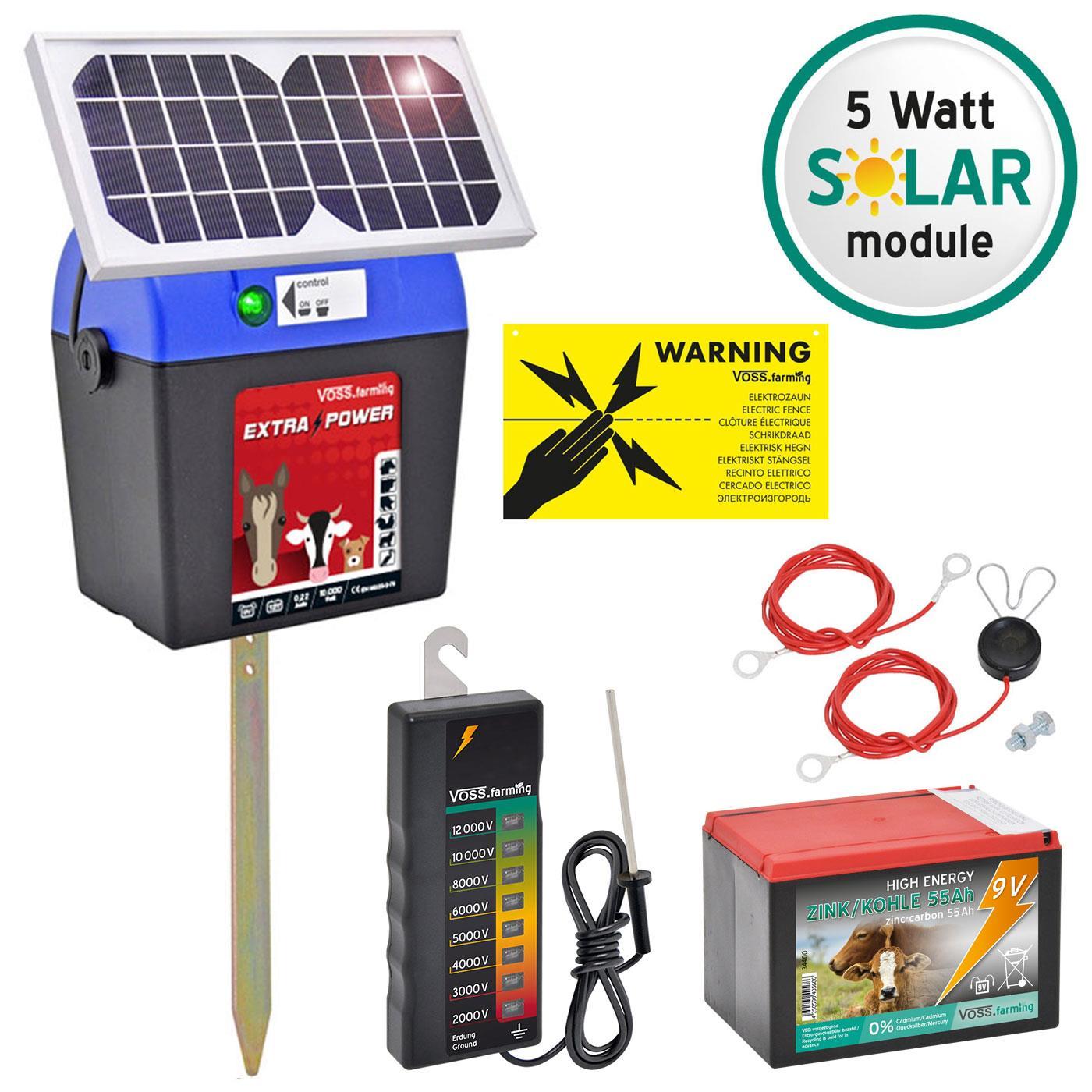 Pannello Solare Per Recinto Elettrico : V voss farming quot extra power solar electric fence