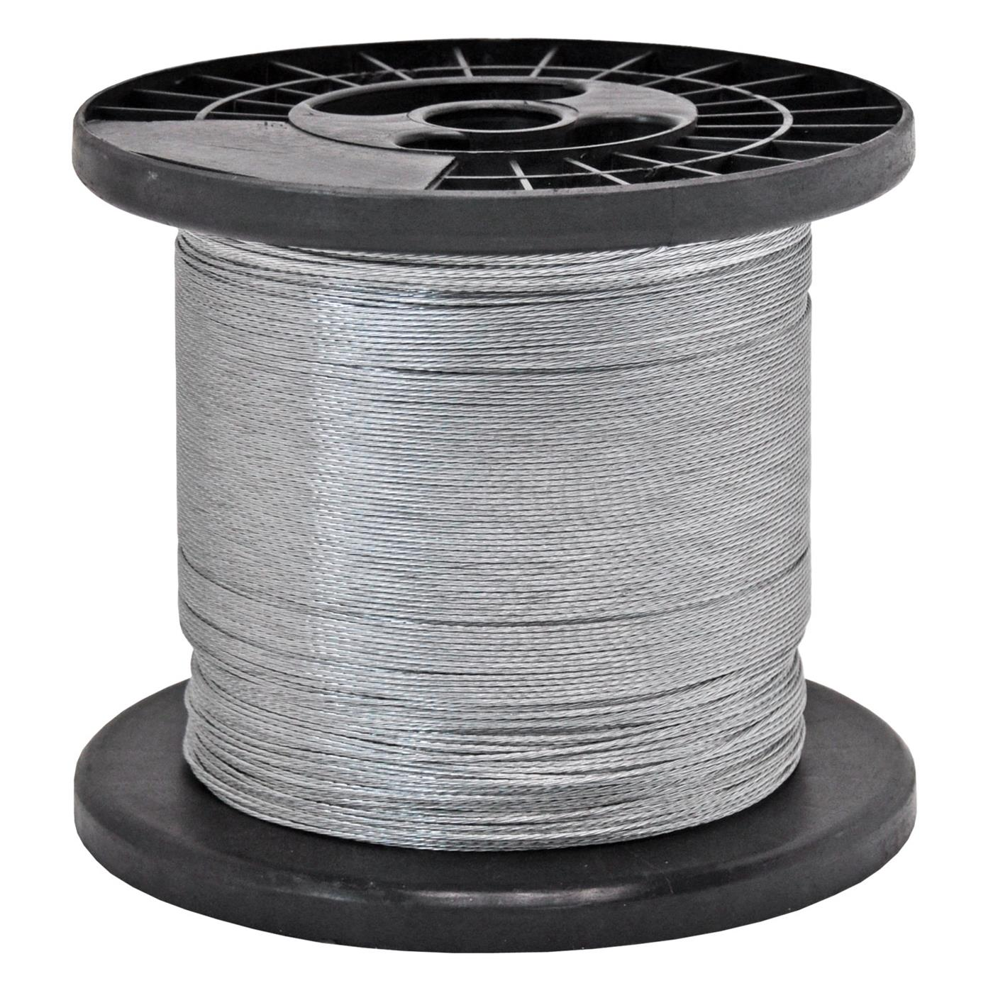 1000m 1 5mm electric fence wire galvanised stranded fencing ebay