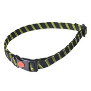 Elastic Collar, 25 mm Wide, Yellow