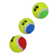 3-piece Set of Tennis Balls for Dogs