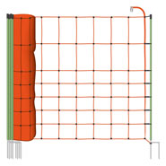50m VOSS.farming Electric Fence Netting, Euronet, 106cm, 2 Spikes