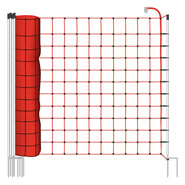 25m Electric Fence Netting, Euro, 170cm, 2 Spikes