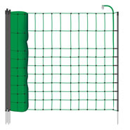 12m VOSS.PET Small Animal Netting, 65cm, Green, 1 Spike