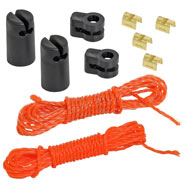 VOSS.farming Repair Kit for Electric Fence Netting - Orange