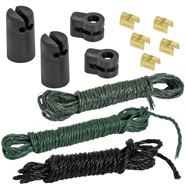 VOSS.farming Repair Kit for Electric Fence Netting - Green