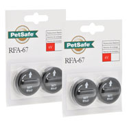4er Pack Petsafe Battery Module RFA-67