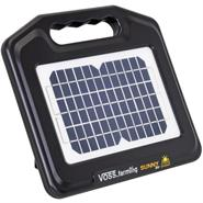 "VOSS.farming Solar Energiser ""Sunny 800"", incl. Li-Ion Rechargeable Battery + Mains Adapter"