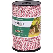 VOSS.farming Electric Fence Polywire 400 m 3 x 0.25 Cu + 3 x 0.20 SS, White-Red