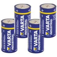 """4x 1.5V Battery, Pack C, """"Varta Industrial"""""""