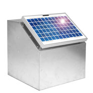 VOSS.farming 10W Solar System, incl. Box and Accessories