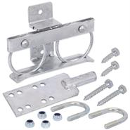 VOSS.farming Self-Locking Bidirectional Lock for Field Gates, Galvanised
