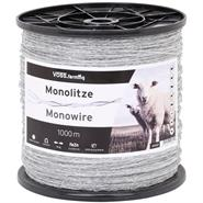 Mono Wire, Polywire 1000m, Transparent