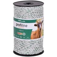 VOSS.farming Fence Polywire 400m, 3x0.25 Copper + 3x0.20 STST White-Green