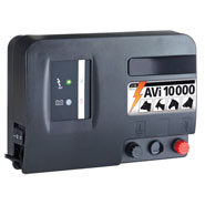 "VOSS.farming ""AVi10000"" - 12V Battery / Mains Energiser, incl. Digital Fence Tester"