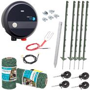 Secure Dog Fence - with our Complete Kit for Small and Medium-sized Dogs