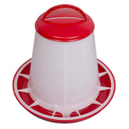 Poultry Feeder for up to 1kg Feed, with Lid
