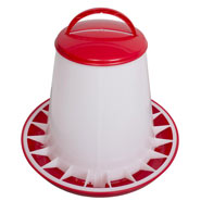 Poultry Feeder for up to 6kg Feed, with Lid