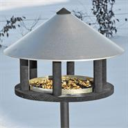 Odensee - Bird Table in Original Danish Design, 155cm High, Diameter 40 cm, incl. Stand