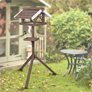 """VOSS.garden Bird House """"Flori"""" incl. Stand"""