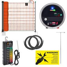 45771.uk-1-voss.farming-poultry-fence-complete-starter-kit-12v-energiser-impuls-duo-50m-orange-netti