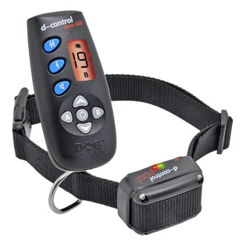 DogTrace D-Control 400, 250 m Remote Trainer with Booster