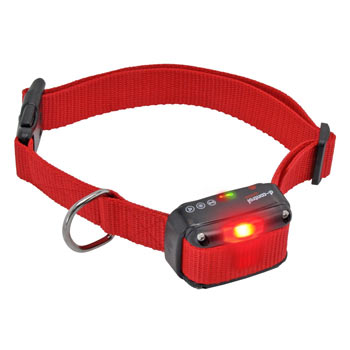 DogTrace Replacement Receiver Collar with Beep Tone, LED and Vibration