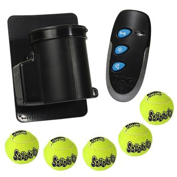"Ball Dropper DogTrace ""D-Balls mini"" Kit, Incl. Remote Control, 5 Balls"