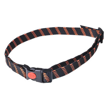 Elastic Collar, 20 mm Slim, Orange