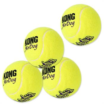 "4x KONG Tennis Balls for DogTrace Ball Machines ""d-balls"" and ""d-ball UP"""