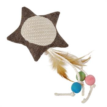 "VOSS.PET ECO Cat Toy ""Joy"", Star"