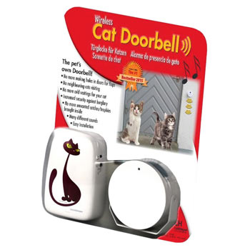 Cat Doorbell, Wireless Doorbell for Cats