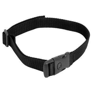 Nylon Collar, DogTrace + PetSafe + Canicom, Black