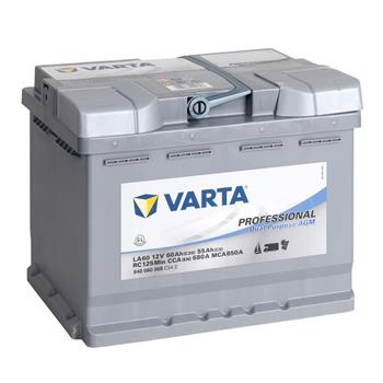 VARTA PROFESSIONAL Electric Fence AGM Rechargeable Battery 12V, 60Ah