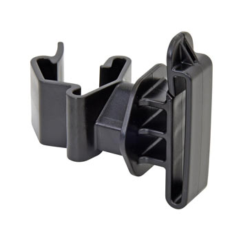 25x T-Post Tape Insulator, Black