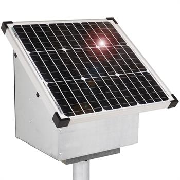 VOSS.farming 35W Solar Anti-Theft Box for Energiser and Battery, incl. Grounding Post