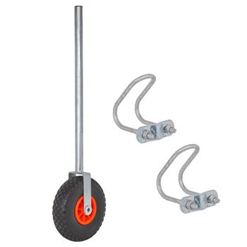 VOSS.farming Premium Adjustable Gate Wheel incl. U-Bolts