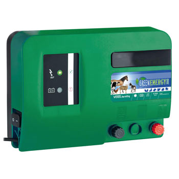 """VOSS.farming """"GreenEnergy"""" - Dual-Power (12V/Mains) Battery Energiser (Mains Adapter Not Included)"""