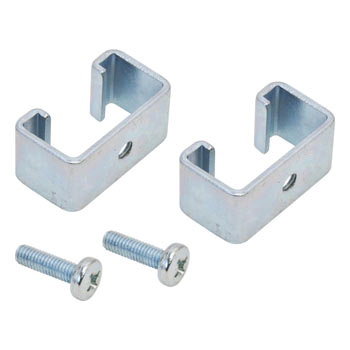 2x Adapter Brackets for Permanent Fence Systems