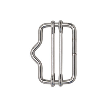 5x VOSS.farming Electric Fence Tape Connector, up to 40mm STAINLESS STEEL (with Nose)