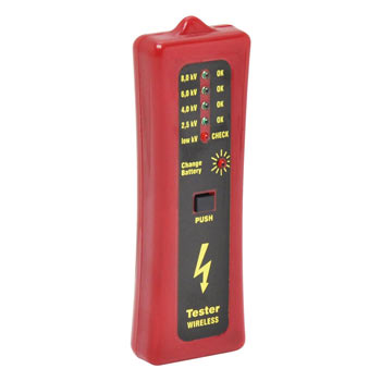 Fence Tester with 5 Levels, up to 8000V (No Ground Probe)
