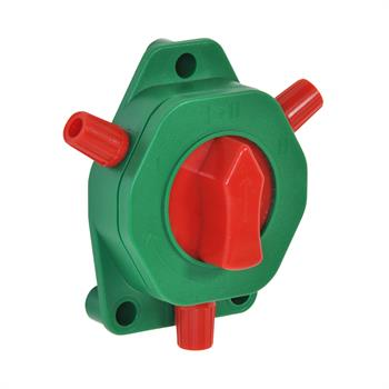 VOSS.farming Fence Switch with Rotary Button, 4 Positions