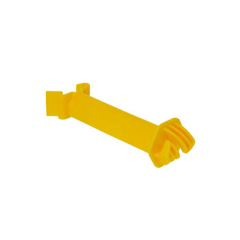 25x Offset Insulator for Permanent Fence System, Yellow