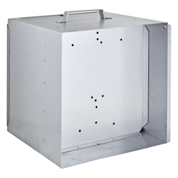 VOSS.farming Metal Carry Box for 12V Battery Energisers
