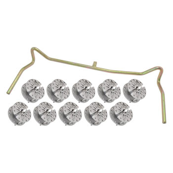 10x Wire and Rope Tensioner + Handle, Set