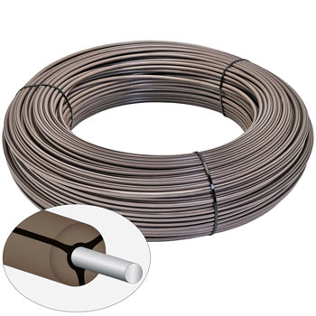VOSS.farming MustangWire, Horse Wire, 200 m, Brown