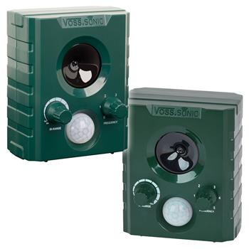 2x VOSS.sonic 1000 Ultrasonic Animal Repeller
