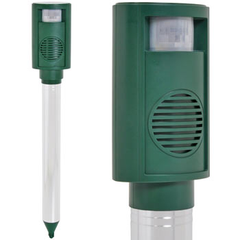 VOSS.sonic 3100 Ultrasonic Animal Repeller, Cat, Dog Scarer, Badger, Fox, Rabbit Deterrent