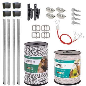 VOSS.farming Wild Boar Fence - 100m Extension Kit
