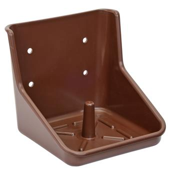 VOSS.farming Plastic Holder for Salt Stone, Brown