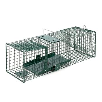VOSS.farming Live Trap for Rats and Mice with Trap Door, 18.5 x 18.5 x 60cm